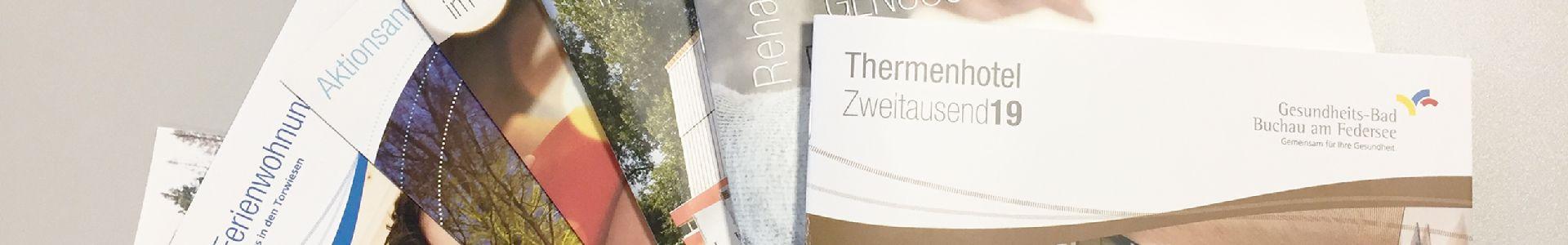 Kataloge & Broschüren