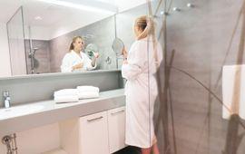 Abschalten, auftanken, genießen: Im mit 5 Medical Wellness Stars und 4 K(ur) Sternen ausgezeichneten Thermenhotel am Federsee.
